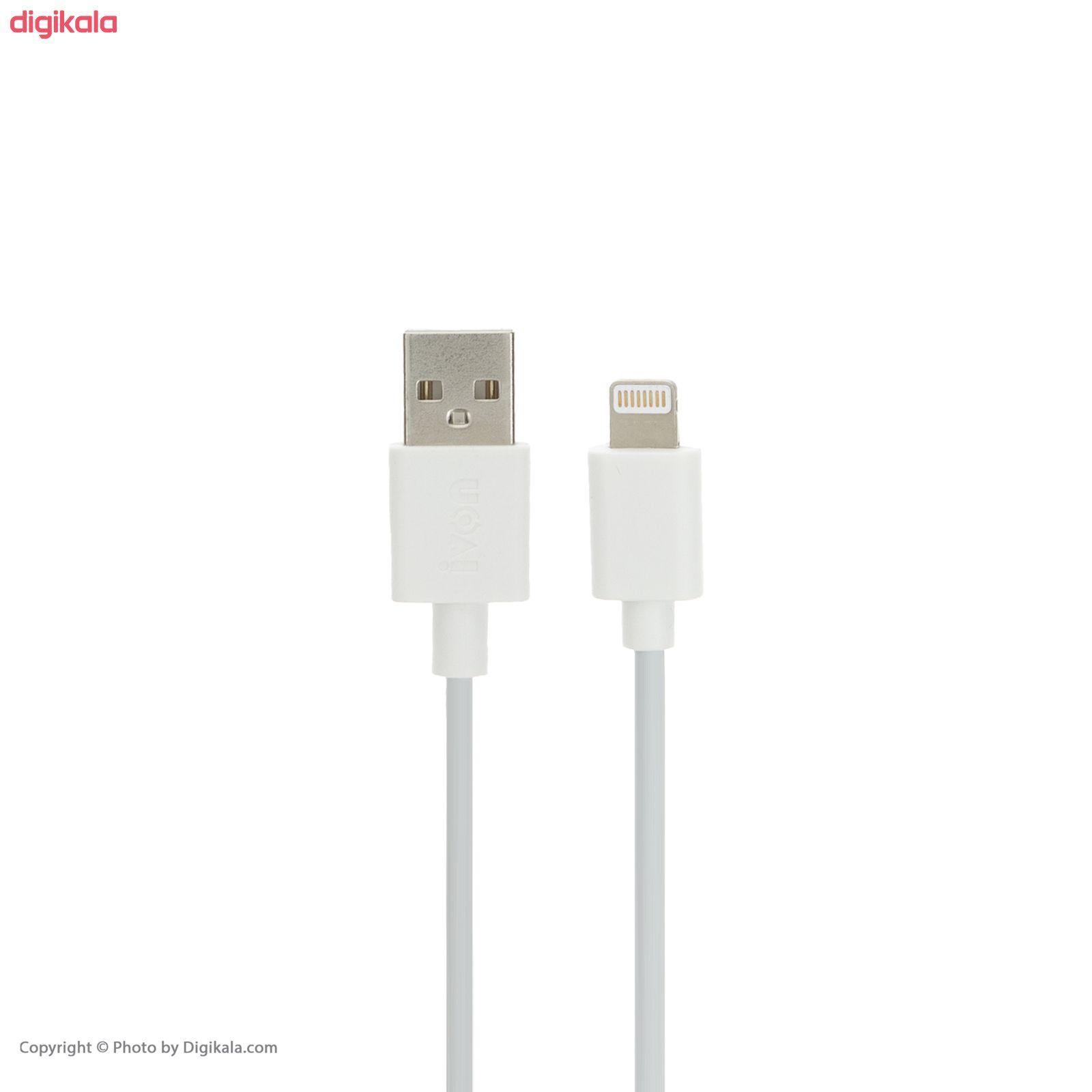 کابل تبدیل USB به لایتنینگ آی ون مدل CA-01 طول 1 متر main 1 1