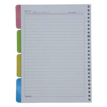 کاغذ کلاسور سبلان کد K001 بسته 100 عددی