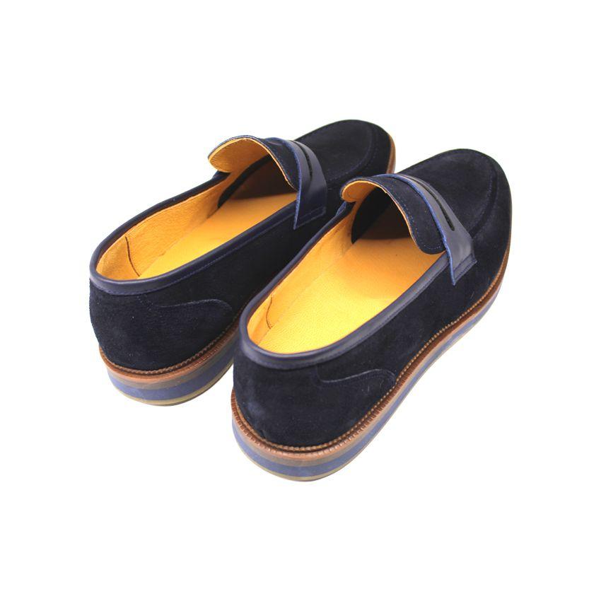 کفش روزمره مردانه چرم آرا مدل sh025 کد so -  - 8