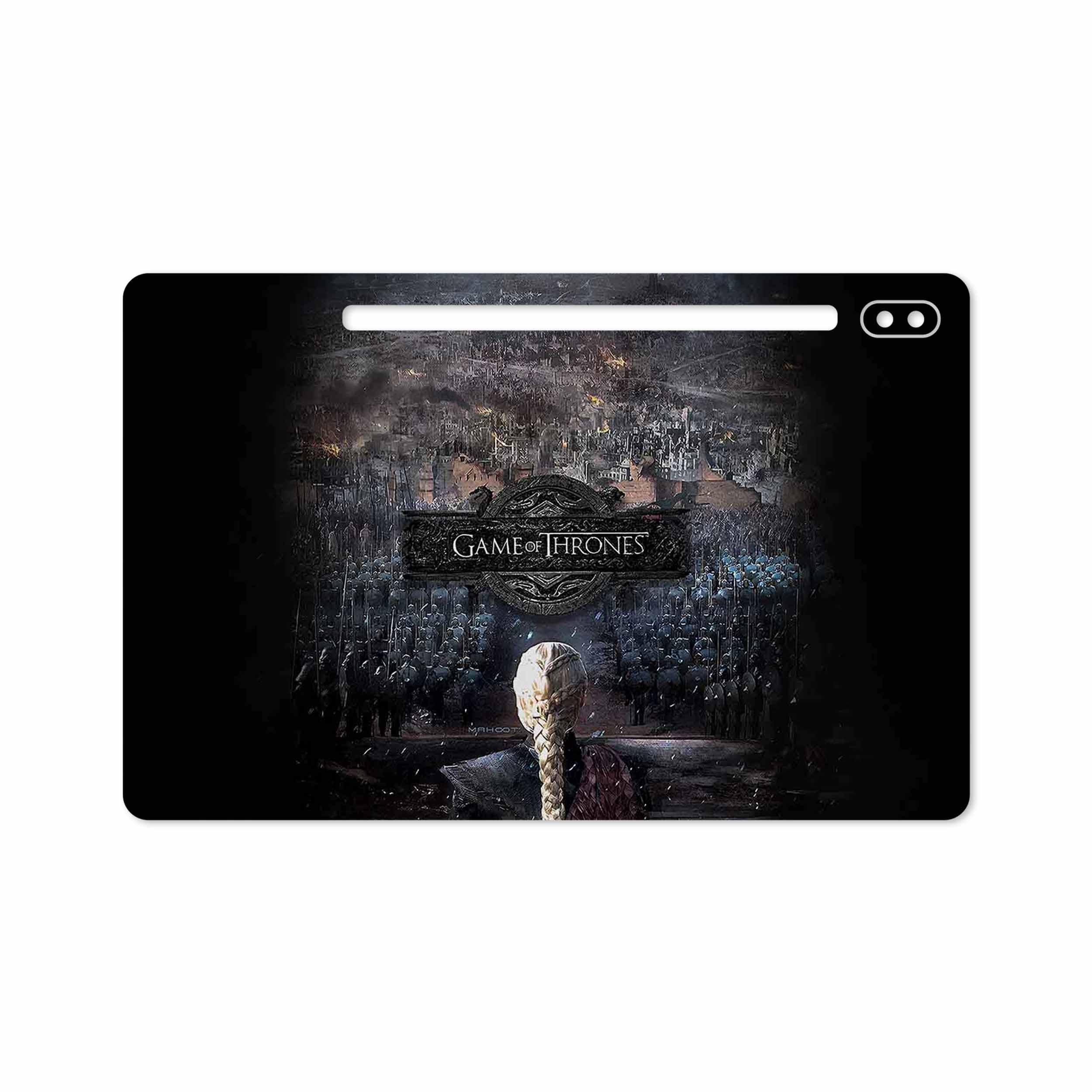 بررسی و خرید [با تخفیف]                                     برچسب پوششی ماهوت مدل Game of Thrones مناسب برای تبلت سامسونگ Galaxy Tab S6 2019 SM-T865                             اورجینال