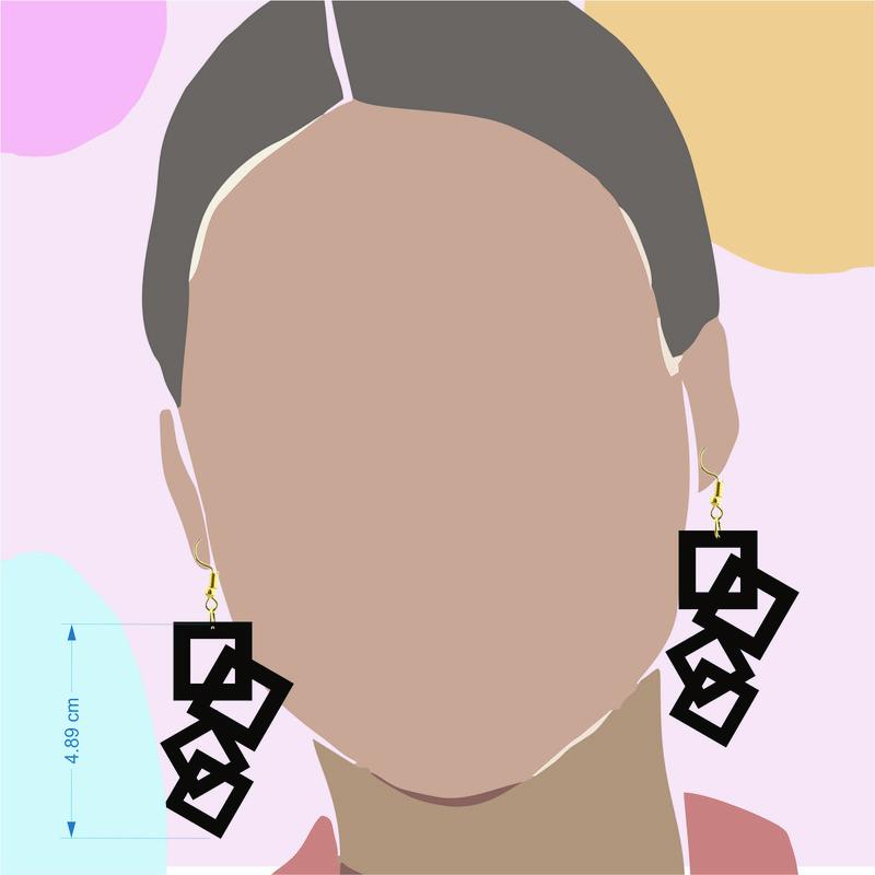 گوشواره زنانه کد E032