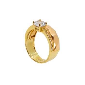 انگشتر طلا 18 عیار زنانه مدل B0005