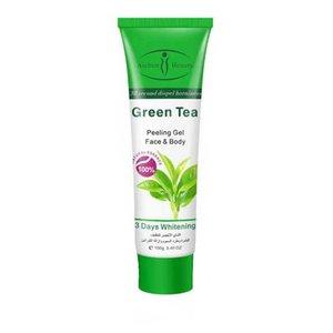 کرم لایه بردار پوست ایچون بیوتی مدل Green Tea  حجم 100 میلی لیتر