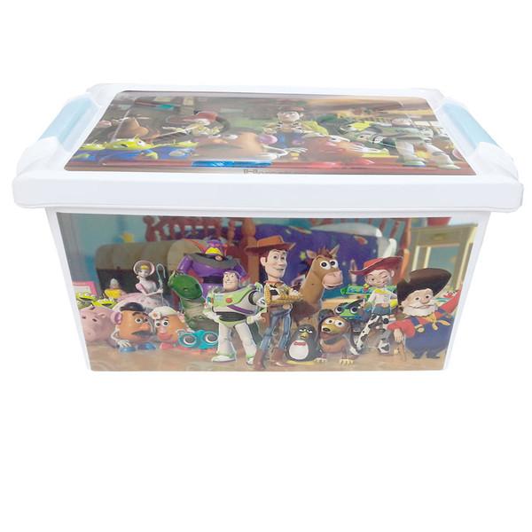 جعبه اسباب بازی کودک طرح داستان اسباب بازیها کد SM33