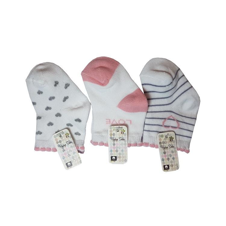 جوراب نوزادی هدیه کد p22-2 مجموعه 3 عددی