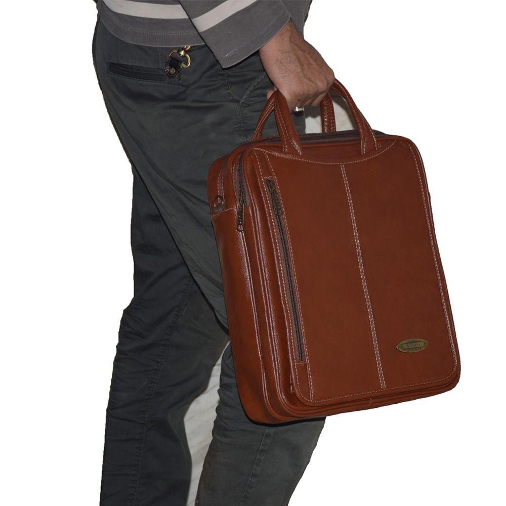کیف دستی چرم ما مدل SM-12 -  - 24