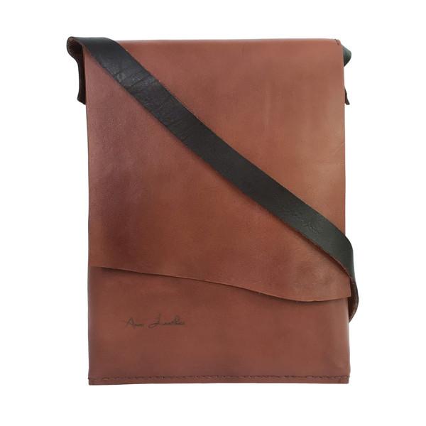 کیف رو دوشی چرمی انارلدر مدل وگا
