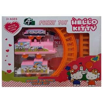 قطار بازی فانی توی طرح هلو کیتی کد T-199
