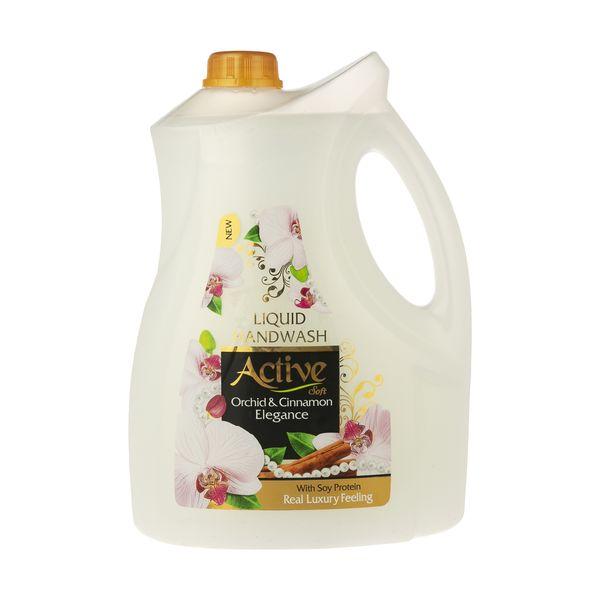 مایع دستشویی اکتیو مدل Orchid & Cinnamon مقدار 3.75 کیلوگرم