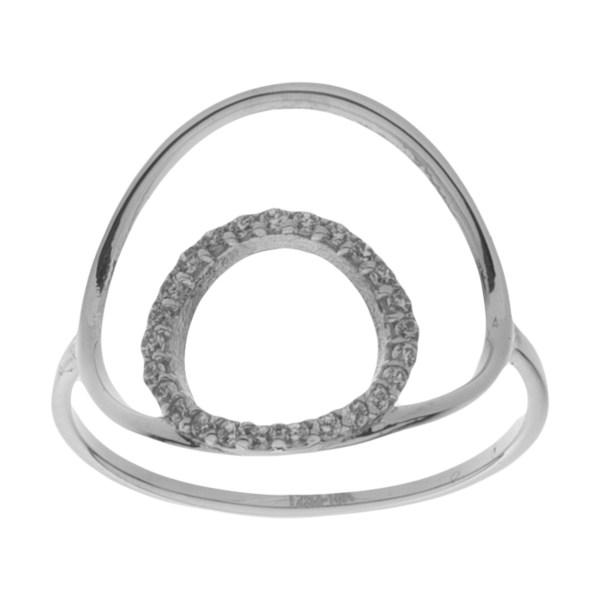 انگشتر طلا 18 عیار زنانه مایا ماهک مدل MR0576