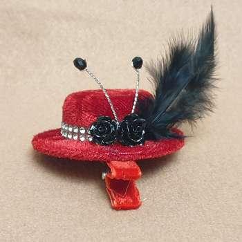 گیره مو دخترانه مدل کلاه