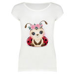 تی شرت آستین کوتاه زنانه مدل SKH991106-001 thumb