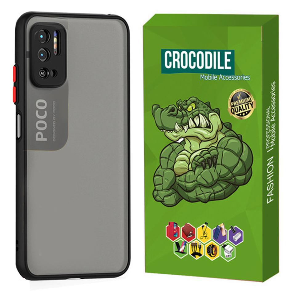 بررسی و {خرید با تخفیف} کاور کروکودیل مدل CMAT-LE مناسب برای گوشی موبایل شیائومی Poco M3 Pro اصل