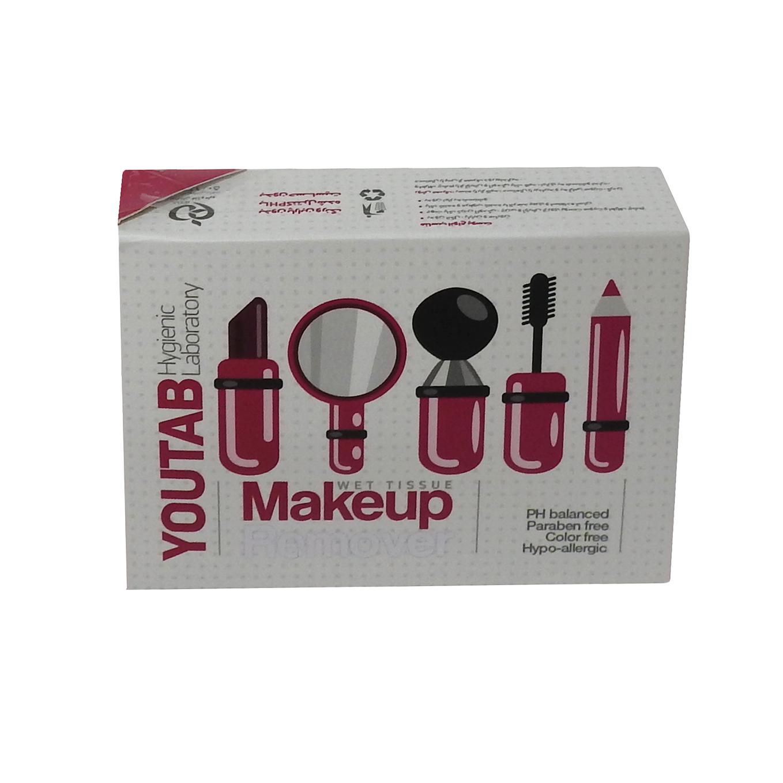 دستمال پاک کننده آرایش صورت یوتاب مدل Antiallergic بسته 5 عددی
