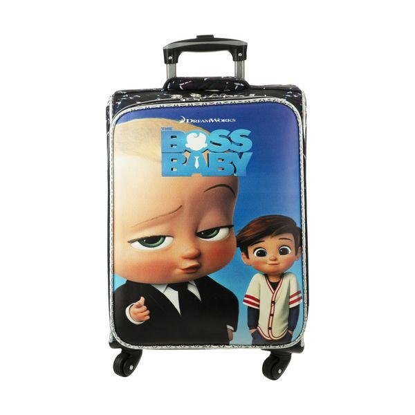 چمدان کودک مدل بچه رئیس