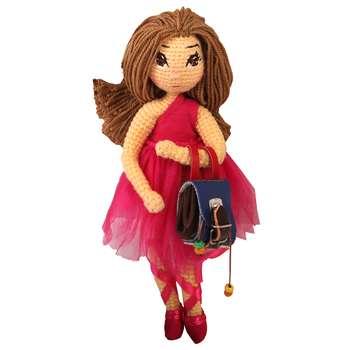 عروسک بافتنی پریا مدل Benita02