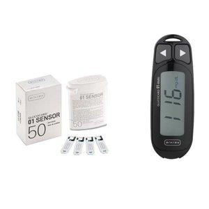 دستگاه تست قند خون آرکری مدل Glucocard 01 Mini به همراه نوار تست بسته 50 عددی