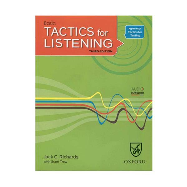 کتاب Tactics for Listening 3rd Basic اثر Jack C. Richards انتشارات جنگل