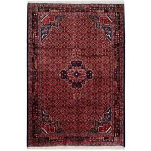 فرش قدیمی دستبافت شش و نیم متری کد 111