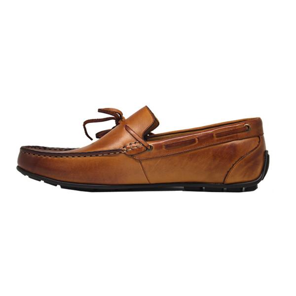 کفش روزمره مردانه چرم آرا کد sh019