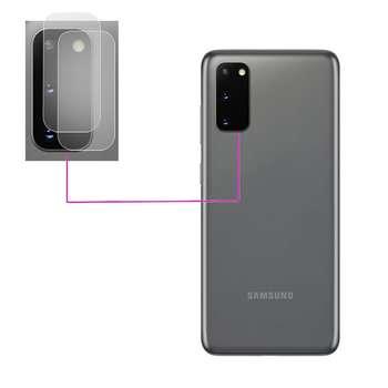محافظ لنز دوربین مدل LTP مناسب برای گوشی موبایل سامسونگ Galaxy S20 بسته دو عددی