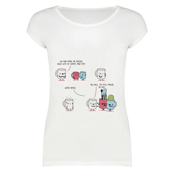 تی شرت زنانه مدل SKH0005-000169
