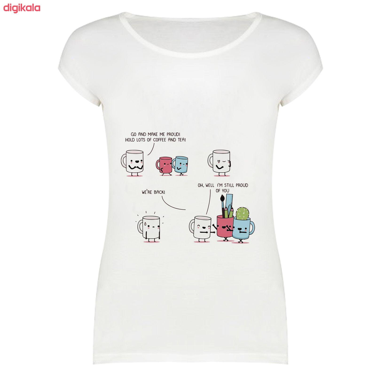 تی شرت زنانه مدل SKH0005-000169 main 1 1