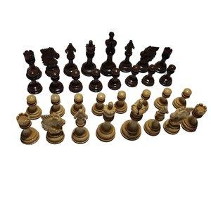 مهره شطرنج مدل شهریار مجموعه ۳۲ عددی