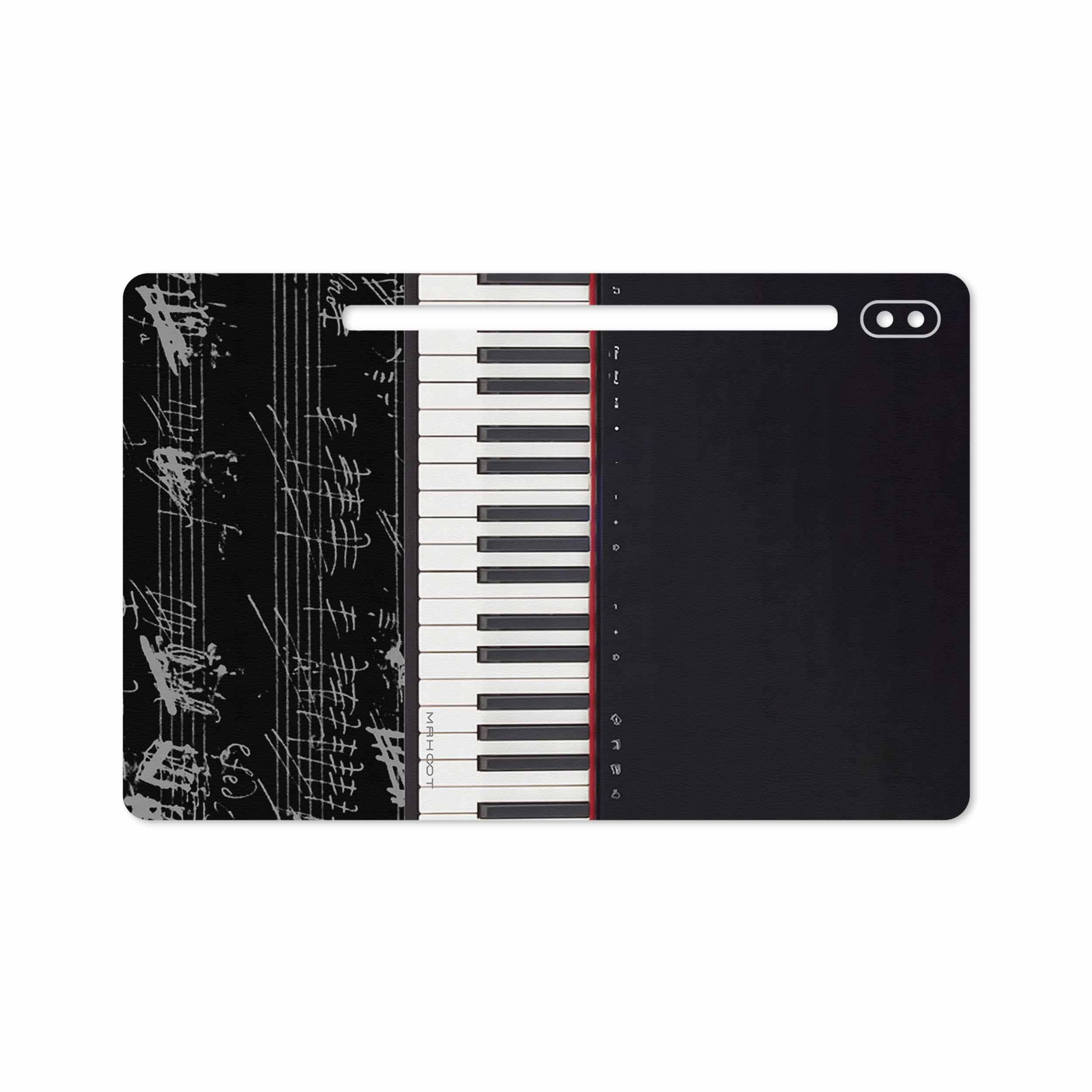 بررسی و خرید [با تخفیف]                                     برچسب پوششی ماهوت مدل Piano-Instrument مناسب برای تبلت سامسونگ Galaxy Tab S6 2019 SM-T865                             اورجینال