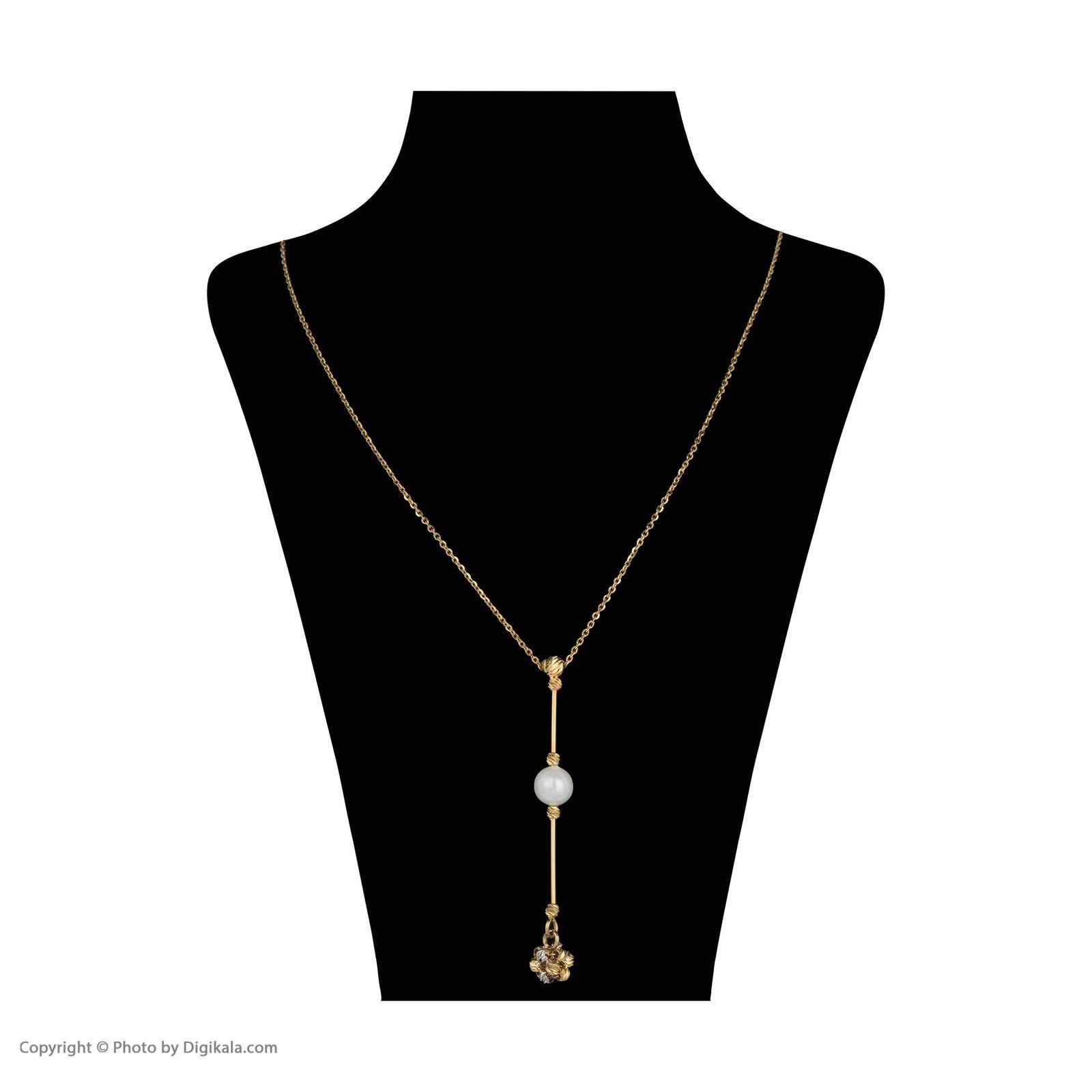 گردنبند طلا 18 عیار زنانه سیودو مدل 144604 -  - 3
