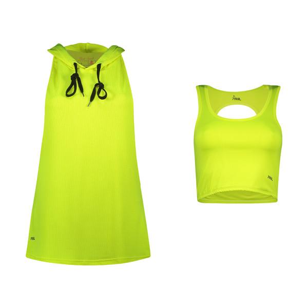 ست تاپ و نیم تنه ورزشی زنانه پانیل مدل 4064Y