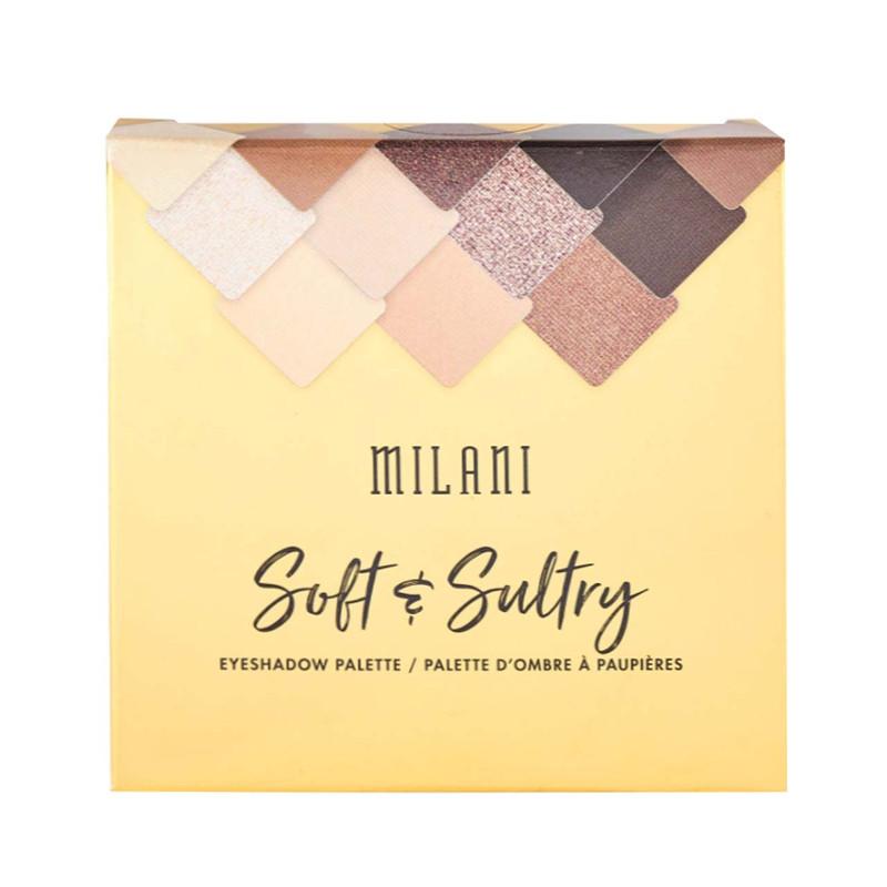پالت سایه چشم میلانی مدل Soft Sultry شماره 03