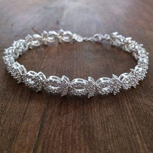 دستبند نقره زنانه کد 3054