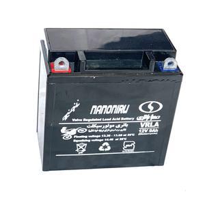 باتری موتور سیکلت صبا باتری مدل SB