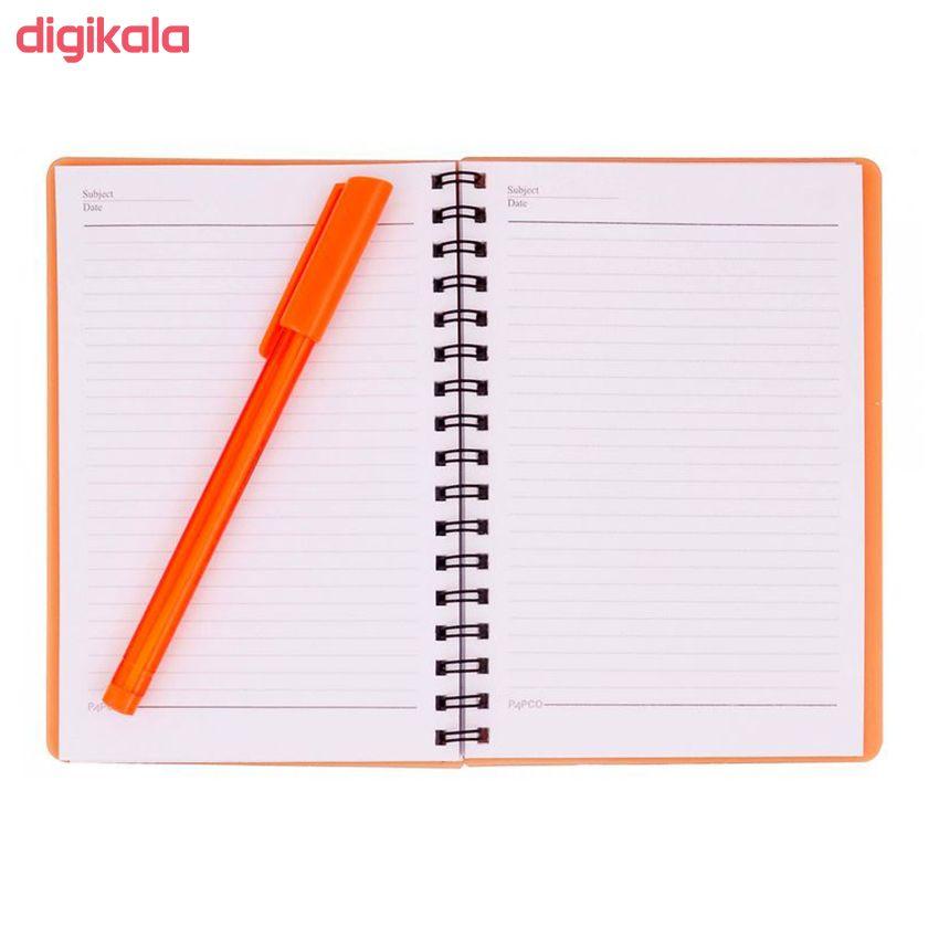 دفترچه یادداشت 60 برگ پاپکو مدل A6-605 main 1 1