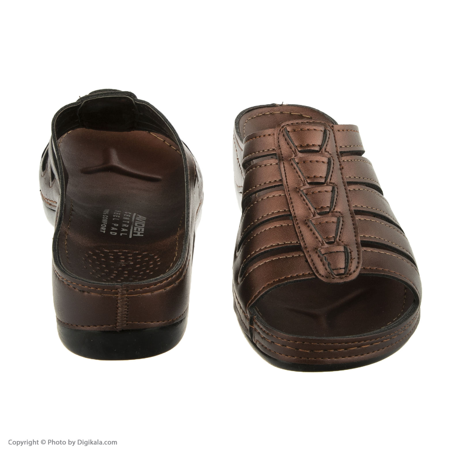 دمپایی زنانه کفش آویده کد av-0304212 رنگ مسی -  - 8
