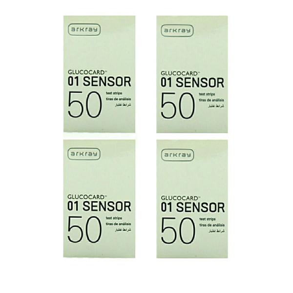 نوار دستگاه تست قند آرکری مدل  sensor مجموعه 4 عددی