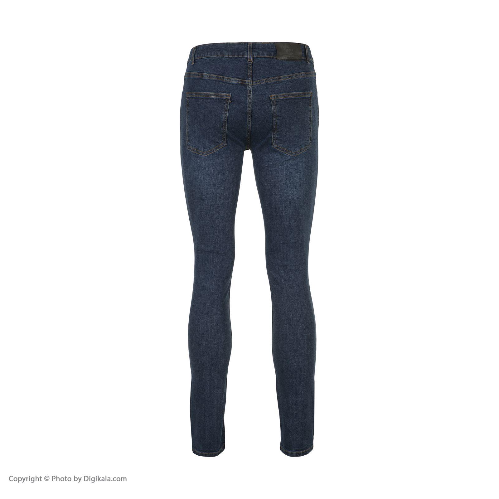 شلوار جین مردانه آر اِن اِس مدل 133051-59 -  - 4