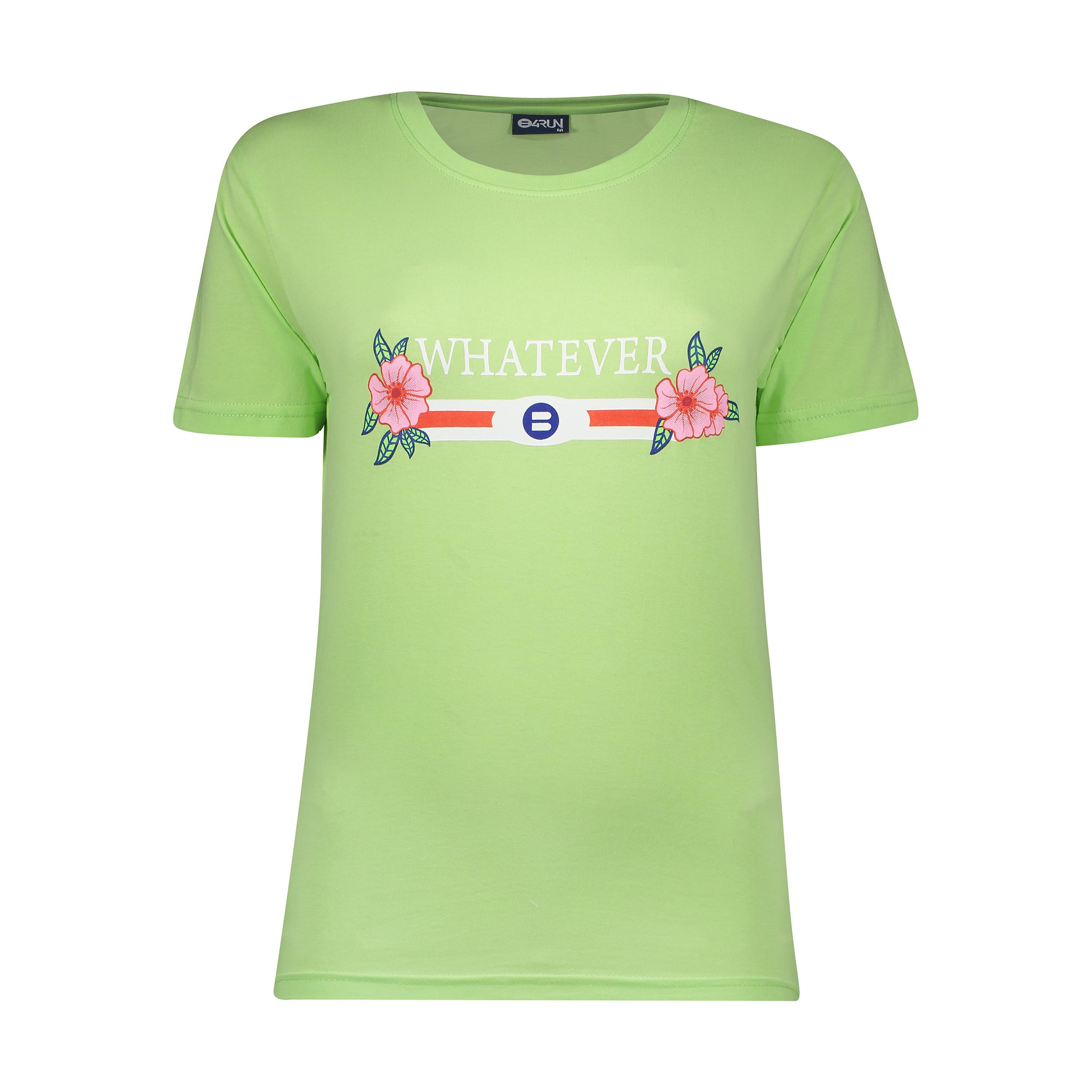 تی شرت ورزشی زنانه بی فور ران مدل 210322-41