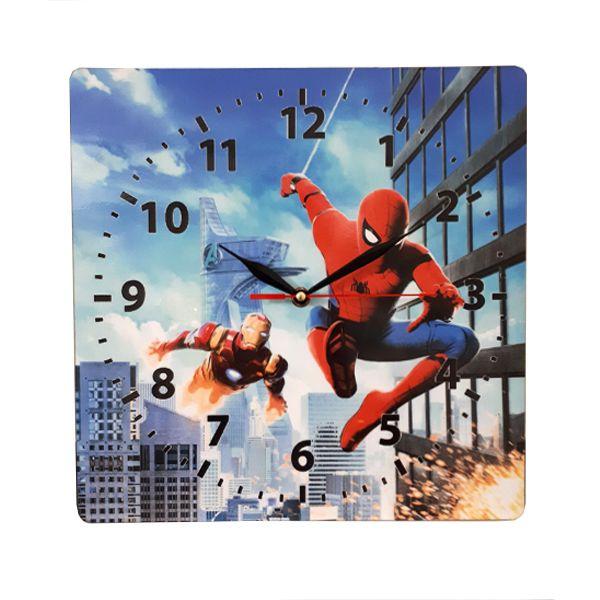 ساعت دیواری کودک مدل مرد عنکبوتی