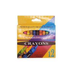 مداد شمعی 12 رنگ مدل JR