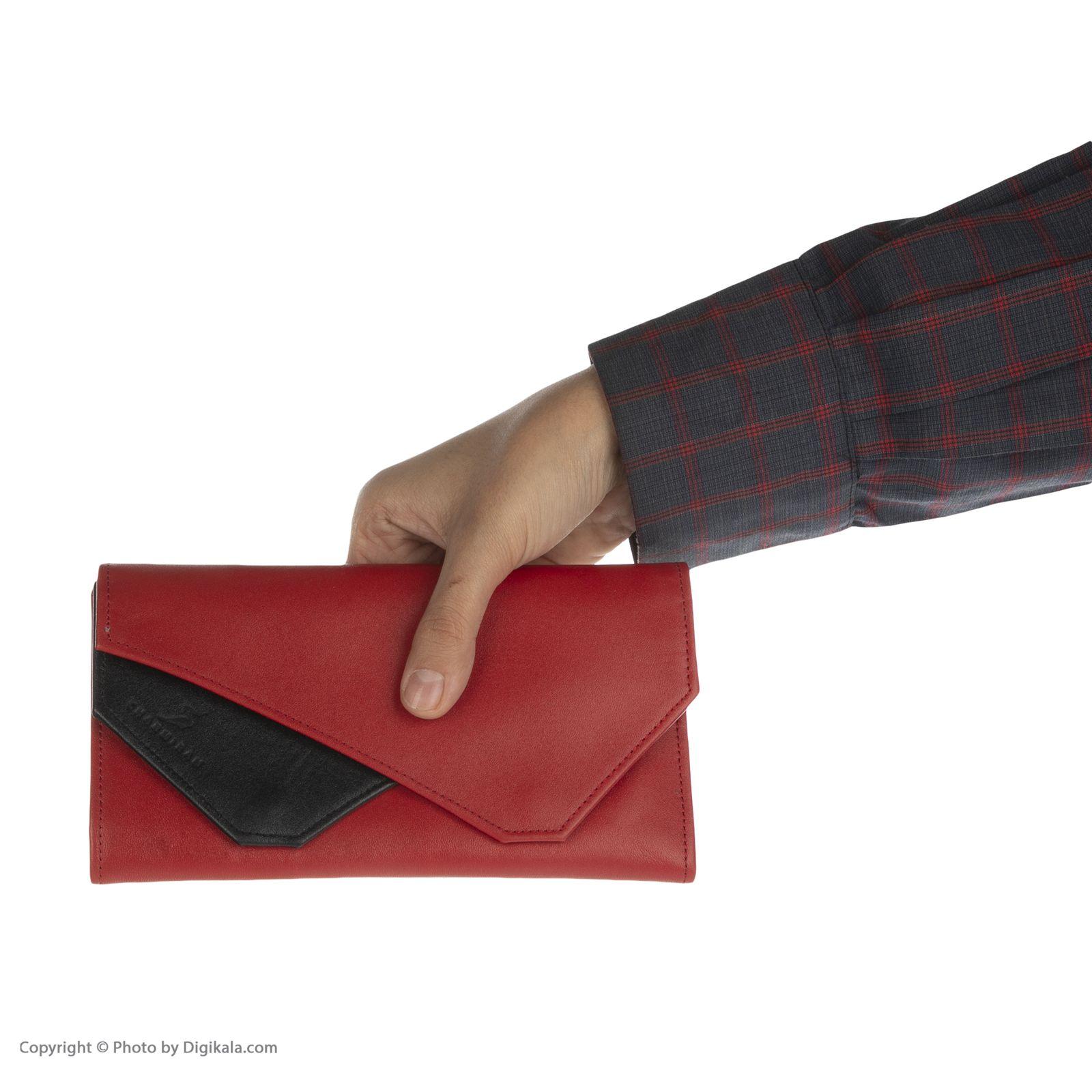 کیف پول زنانه چرمیران مدل 6059308 -  - 8