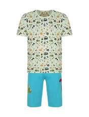 ست تی شرت و شلوارک راحتی مردانه مادر مدل 2041110-52 -  - 1