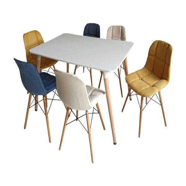 میز و صندلی ناهار خوری مدل A74