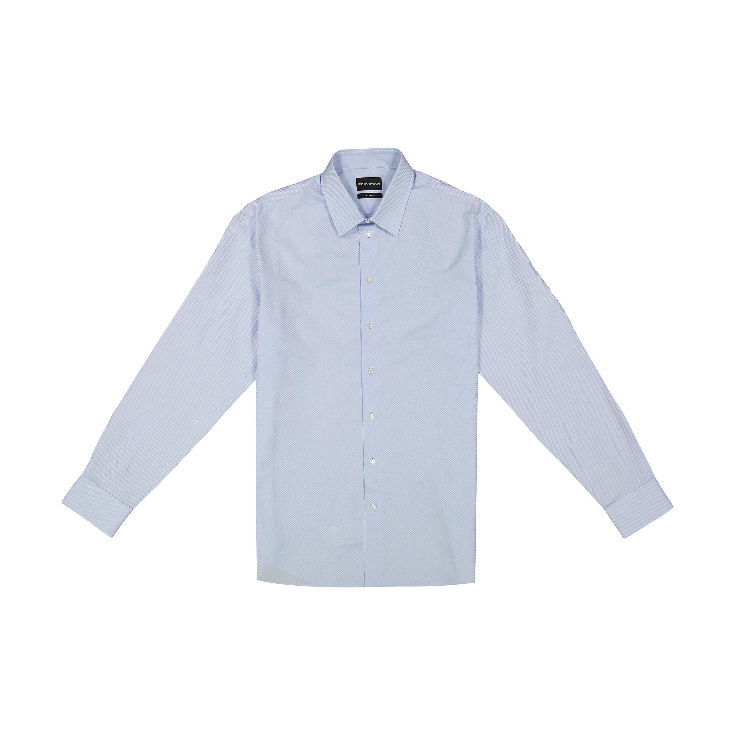 پیراهن آستین بلند مردانه امپریو آرمانی مدل 51CM5L51C34-041