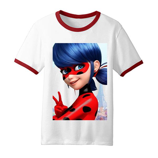 تی شرت بچگانه طرح دختر کفشدوزکی کد TSb2026