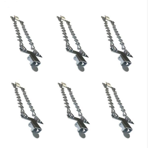 زنجیر چرخ روهو کد L400 مجموعه 6 عددی