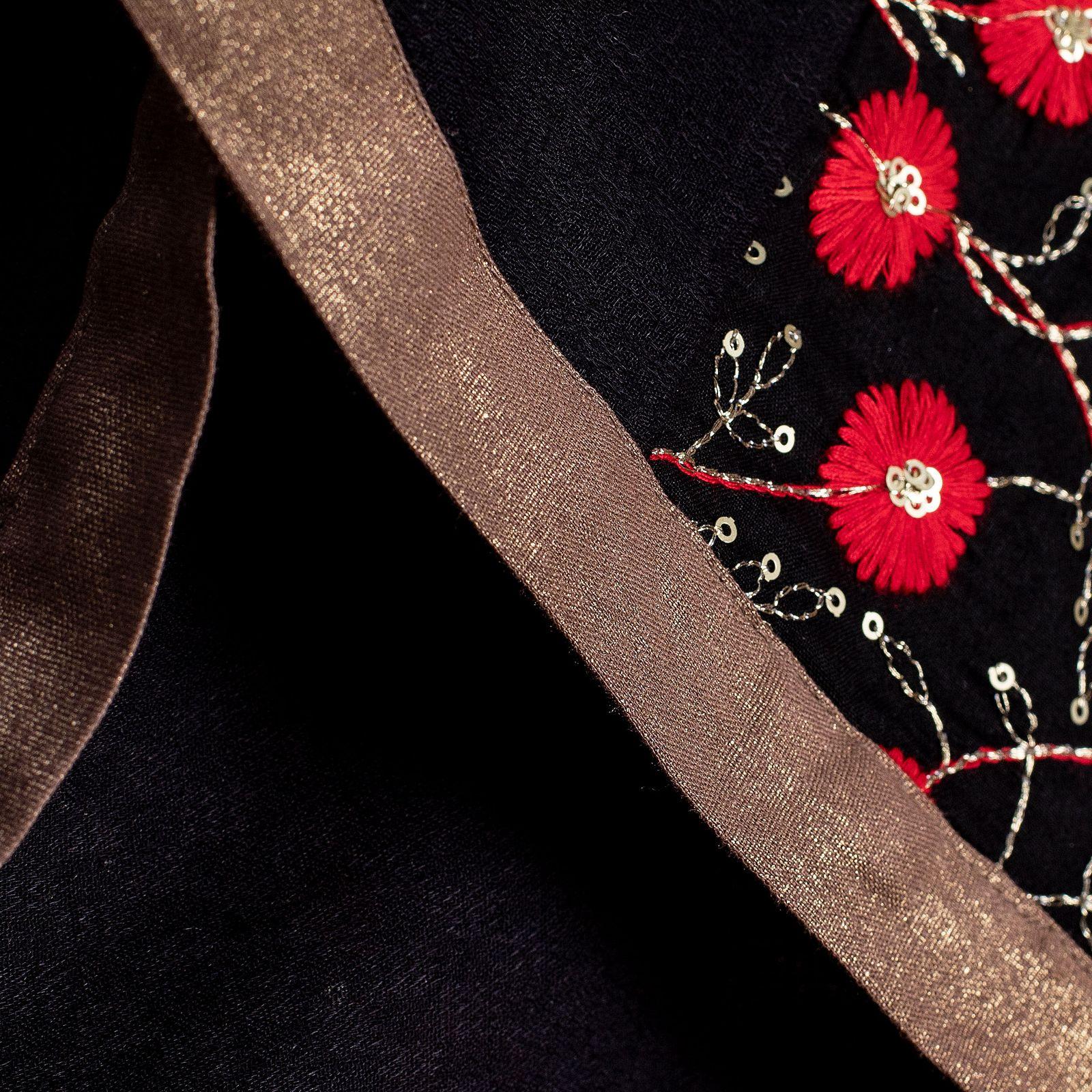 روسری زنانه کلوتو مدل فلورال -  - 4