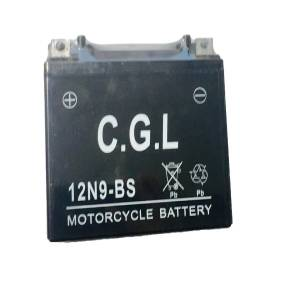 باتری اتمی موتور سیکلت مدل 12N9-BS سی جی ال