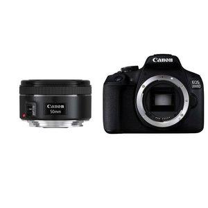دوربین دیجیتال کانن مدل EOS 2000D به همراه لنز 50 میلی متر STM 1.8